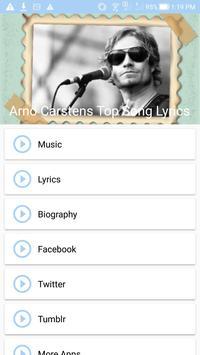 Arno Carstens Top Songs & Lyrics poster