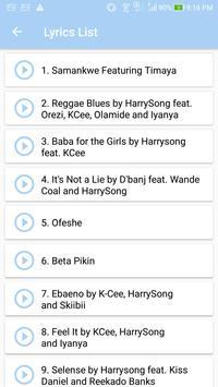 Harrysong: Top Songs & Lyrics screenshot 1