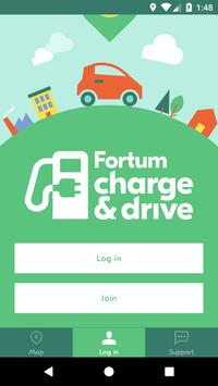Fortum Charge & Drive Finland screenshot 1