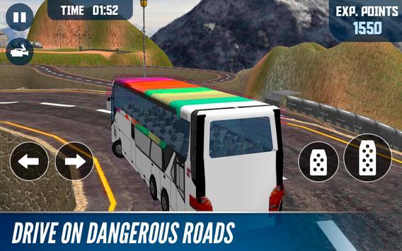 Mountain Bus simulator स्क्रीनशॉट 3