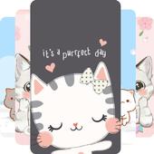 Kawaii Kitten Wallpapers Art icon