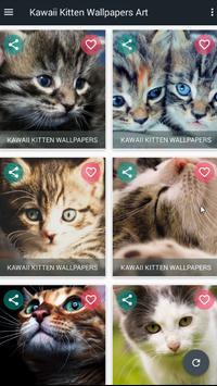 Kawaii Kitten Wallpapers Art screenshot 13