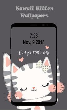 Kawaii Kitten Wallpapers Art screenshot 6