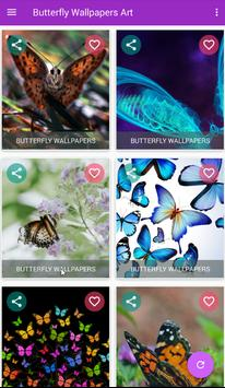 Butterfly Wallpapers Art screenshot 7