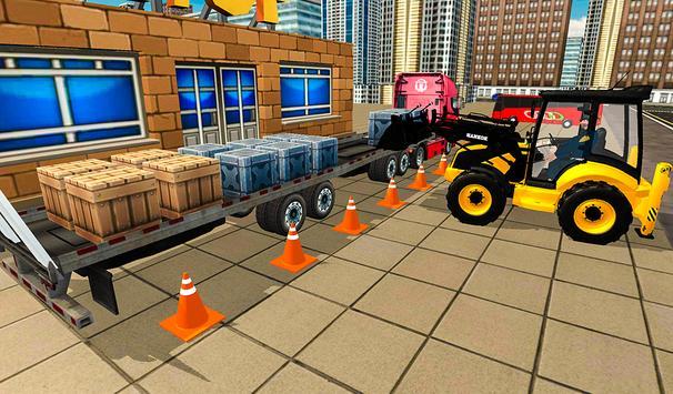 Cargo Forklift Driving Simulator 3D 2019 screenshot 9
