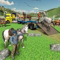 Derby Horse Transport Truck Driver-Horse Stunt 19