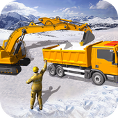 Grand Snow Excavator Machine Simulator 18 圖標