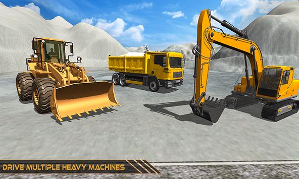 Grand Snow Excavator Machine Simulator 18 截圖 3