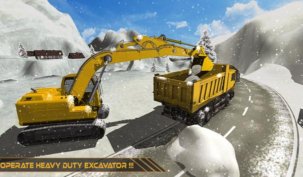 Grand Snow Excavator Machine Simulator 18 截圖 9