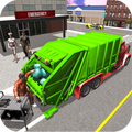 Hospital Garbage Transport Truck Simulator 2020