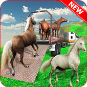 Horse Stunt Racing Manager - Horse Truck 2019 icon