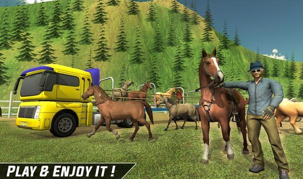 Horse Stunt Racing Manager - Horse Truck 2019 screenshot 7