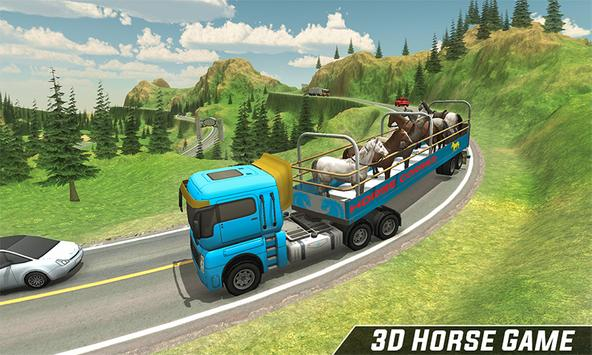 Horse Stunt Racing Manager - Horse Truck 2019 poster
