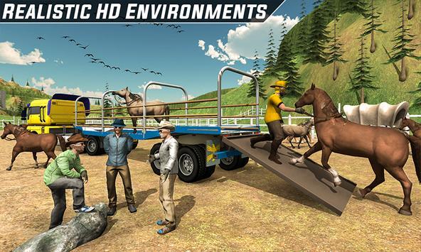 Horse Stunt Racing Manager - Horse Truck 2019 screenshot 2