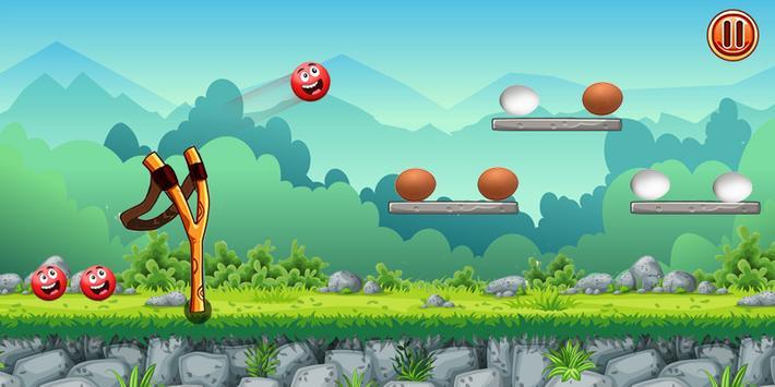 Knock Down Championship - Egg Shooting Game 2019 screenshot 1