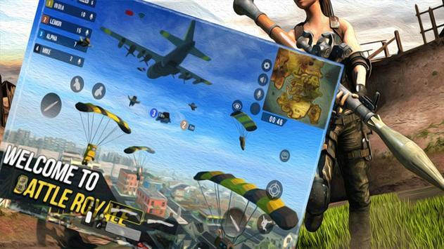 Fire Squad Free Fire: FPS Gun Battle Royale 3D imagem de tela 3