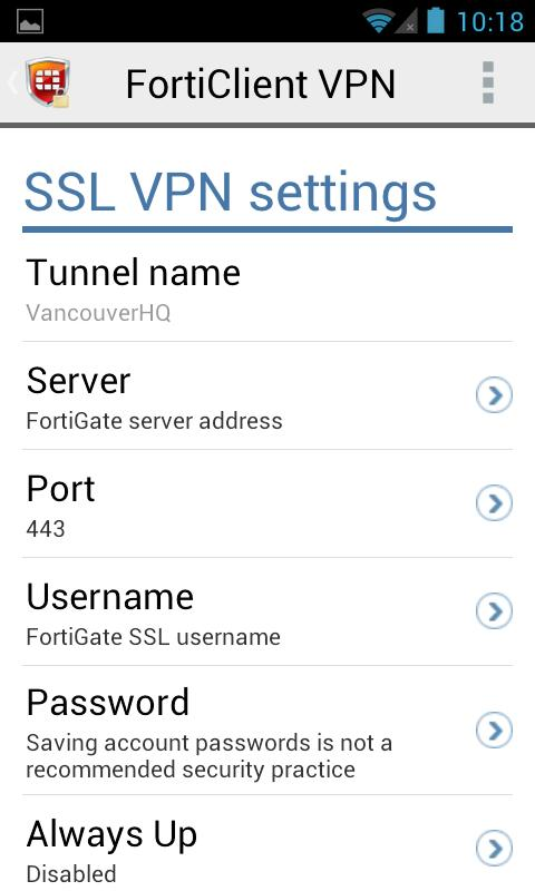 FortiClient VPN for Android - APK Download