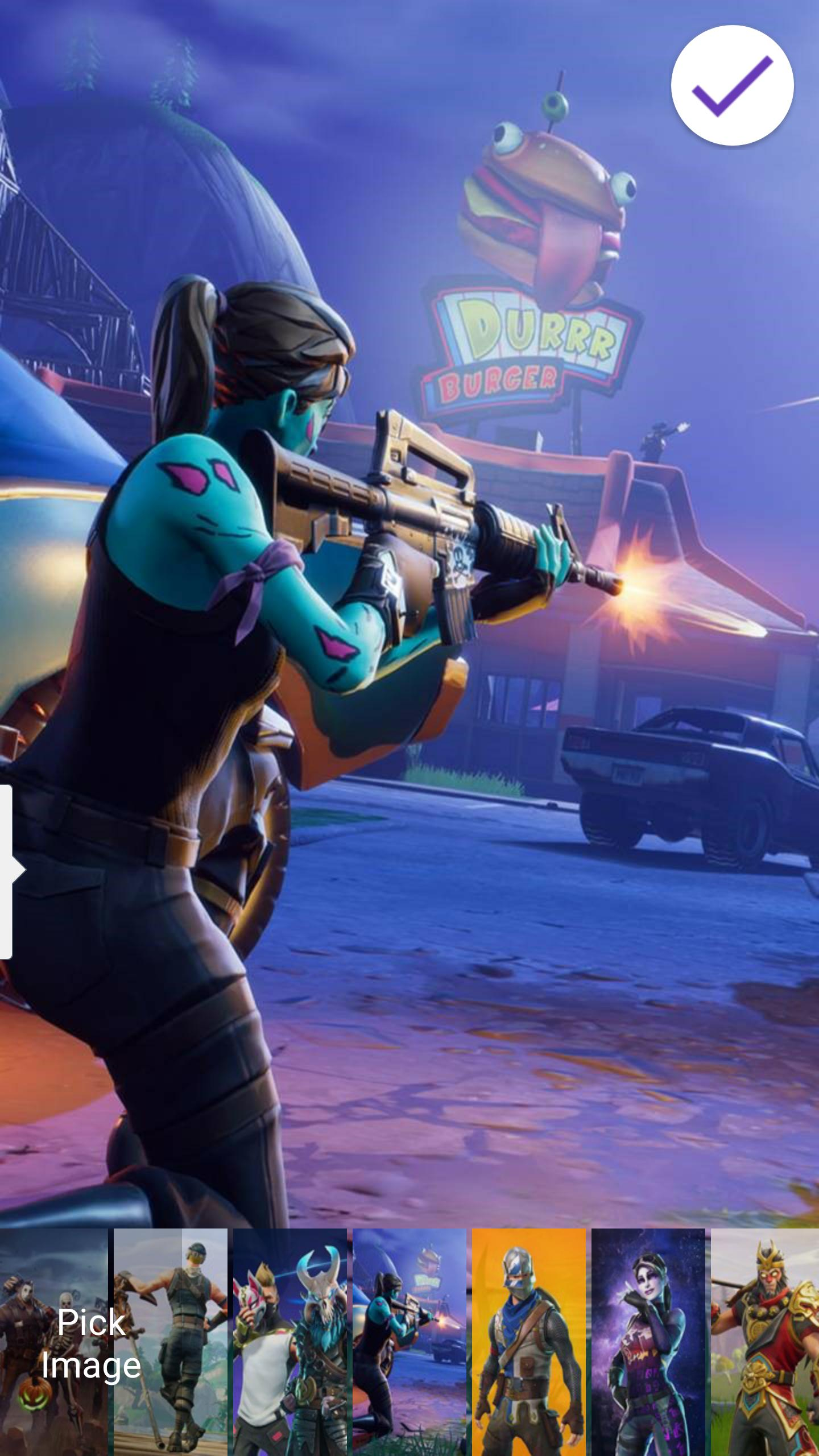 Lock Screen Battle Royale Fortnite Wallpapers For Android Apk Download