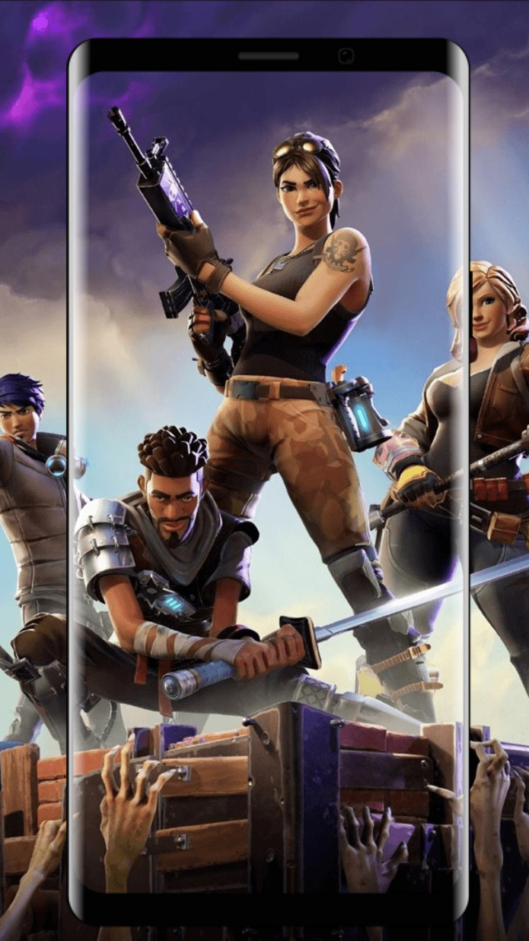 Wallpapers For Fortnite Skins Fight Battle Season For Android Apk Download