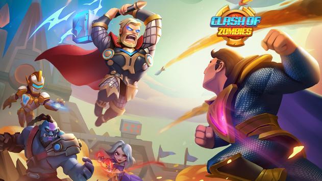 X-War:Clash of Zombies screenshot 4