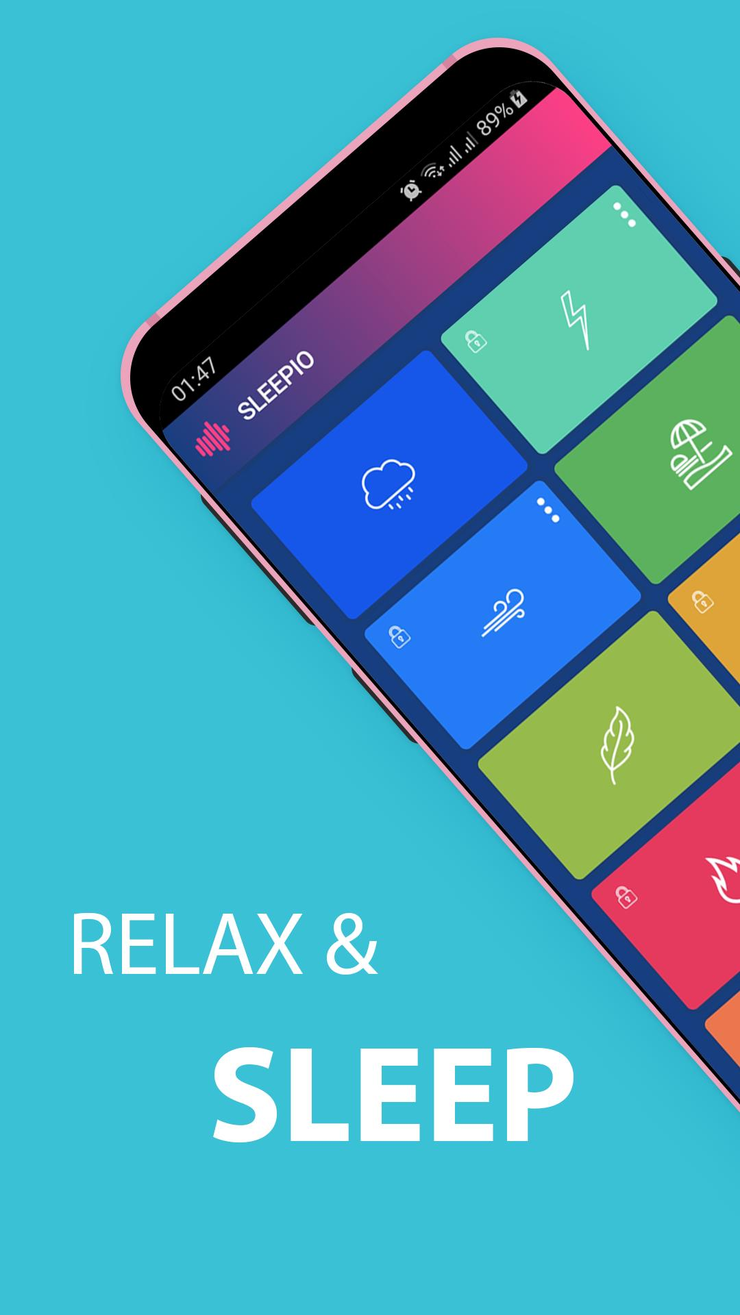 Sleepio: Ralaxing and Sleeping sounds for Android - APK Download
