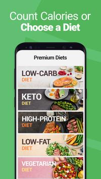 Calorie Counter - MyNetDiary, Food Diary Tracker स्क्रीनशॉट 3