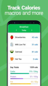 Calorie Counter - MyNetDiary, Food Diary Tracker स्क्रीनशॉट 1