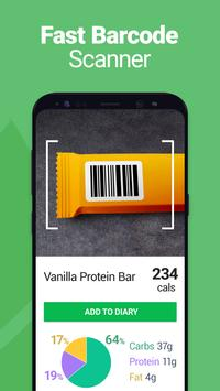 Calorie Counter - MyNetDiary, Food Diary Tracker स्क्रीनशॉट 2