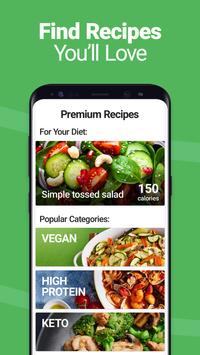 Calorie Counter - MyNetDiary, Food Diary Tracker स्क्रीनशॉट 4
