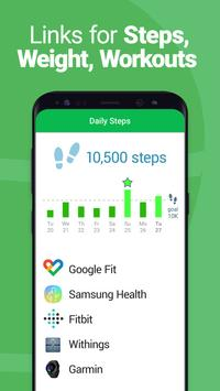 Calorie Counter - MyNetDiary, Food Diary Tracker स्क्रीनशॉट 5