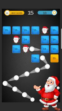 Santa Ball Bricks Breaker : Christmas Games 2018 screenshot 4