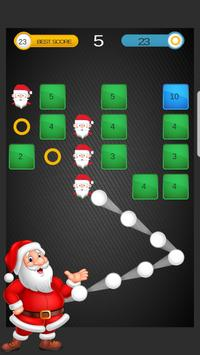 Santa Ball Bricks Breaker : Christmas Games 2018 screenshot 6