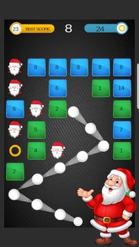 Santa Ball Bricks Breaker : Christmas Games 2018 screenshot 7