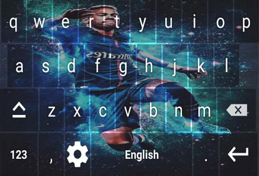 Neymar Jr Keyboard screenshot 3