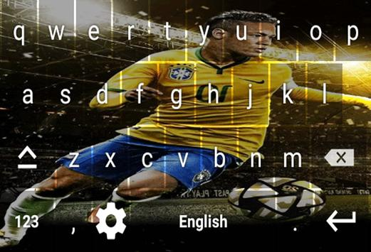 Neymar Jr Keyboard screenshot 4