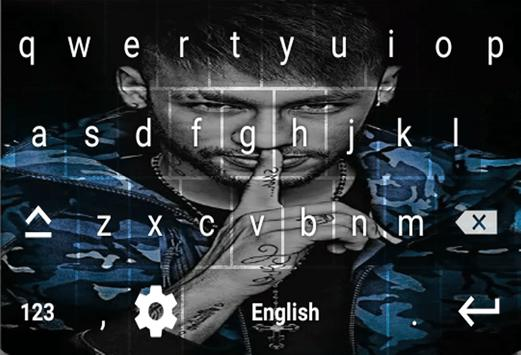 Neymar Jr Keyboard screenshot 5
