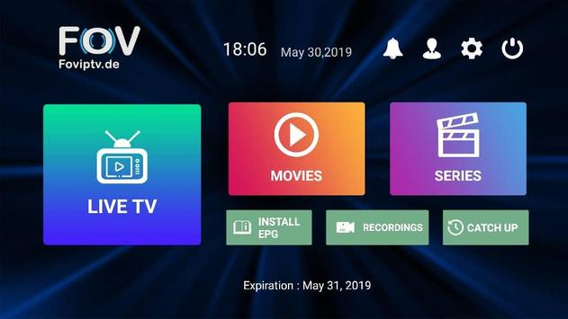FOV IPTV screenshot 1