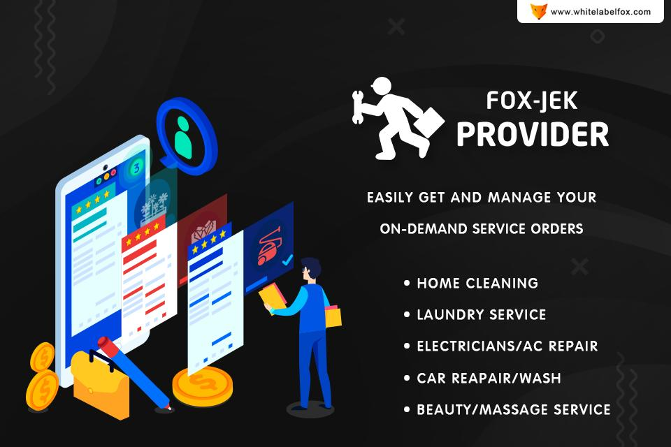 Home Phone Service Providers >> Fox Jek On Demand Service Provider For Android Apk Download