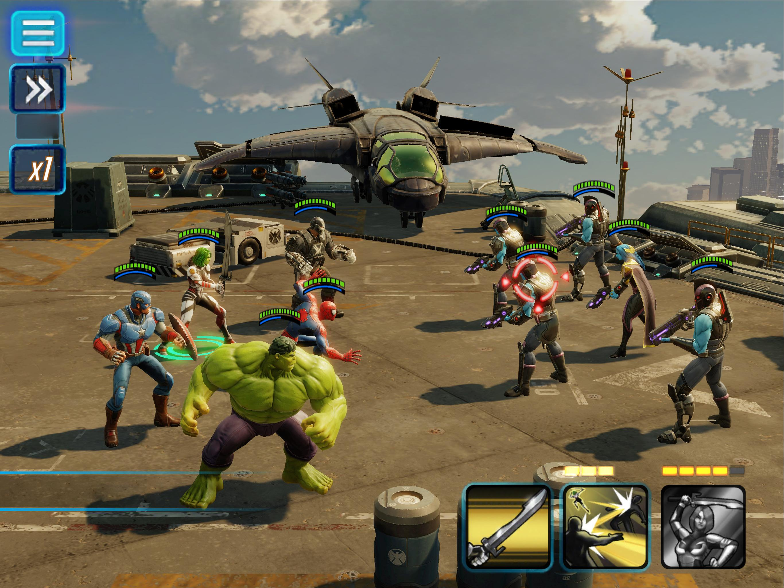 MARVEL Strike Force for Android - APK Download
