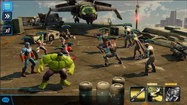 Image result for marvel strike force apk mod