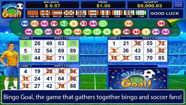 Bingo Goal poster