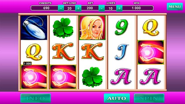 Lucky Lady Queen Slot poster