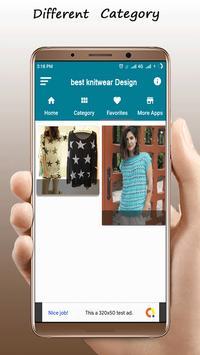 Best Knitwear Design poster