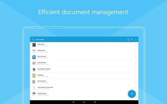 Foxit MobilePDF  - PDF Reader Editor تصوير الشاشة 13