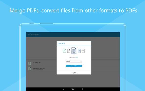 Foxit MobilePDF  - PDF Reader Editor تصوير الشاشة 14