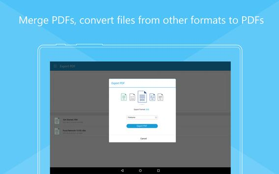 Foxit Mobile PDF  - Edit and Convert स्क्रीनशॉट 14