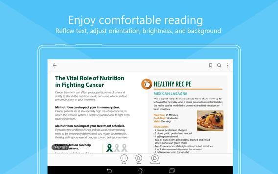 Foxit MobilePDF  - PDF Reader Editor تصوير الشاشة 9
