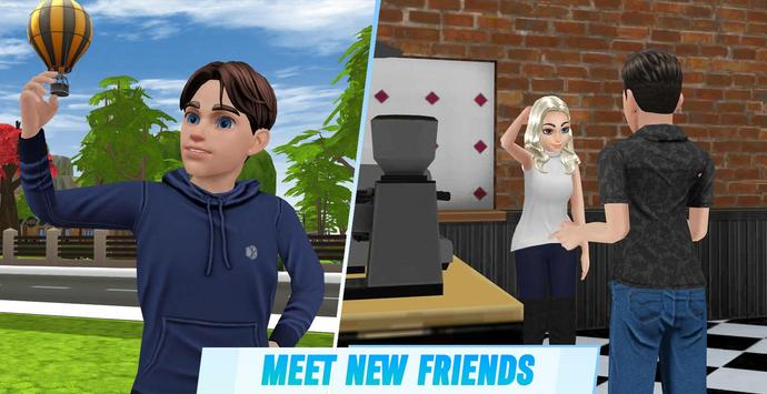 Virtual Sim Story: Dream Life screenshot 2