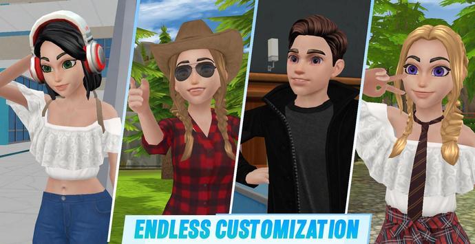 Virtual Sim Story: Dream Life screenshot 8