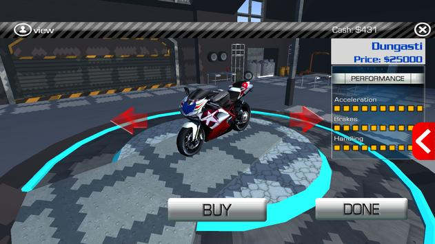 Racing Bike Free screenshot 7